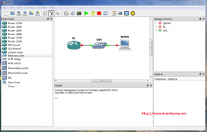 Setup Network Topology